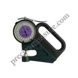 precise micron dial thickness guage
