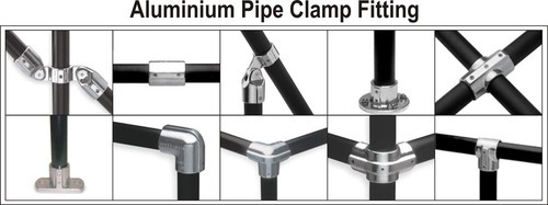 Aluminium Pipe Clamp Fittings