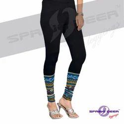 Printed Single Jersey Leggings