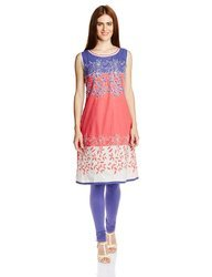 Beautiful Embroidered Floral Kurtis