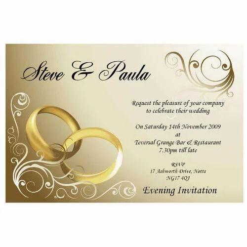 Wedding cards printing services wedding invitation printing wedding invitation printing services junglespirit Gallery
