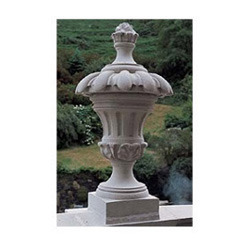 Stone Decorative Garden Finials Pineapple Shaped Finial