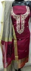 Aaditri  Gota Patti Banarasi Suit