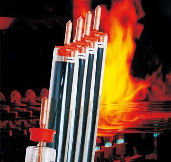 Copper Heat Pipe Solar Vacuum Tube