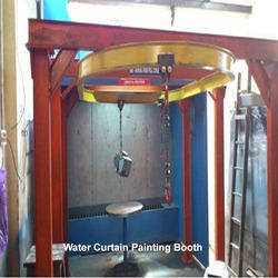 Water Curtain Painting Booth