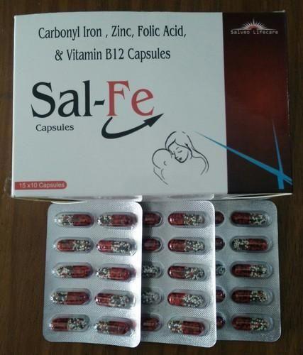 Haematinics Drugs Ferrous Ascorbate And Folic Acid Tablets