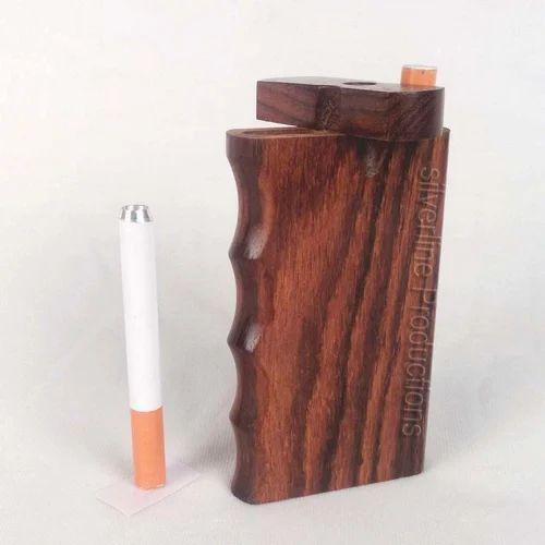 Designer Teak Wooden Dugout Pipe