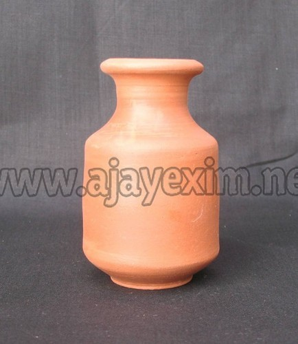 Clay Flower Vase Clay Beautiful Table Flower Vase Exporter From