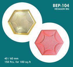 PVC Paver Moulds For Hexagon Big (BEP - 104)