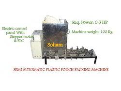 Semi Automatic Plastic Pouch Packing Machine