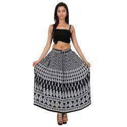 Rayon Fabric Skirt