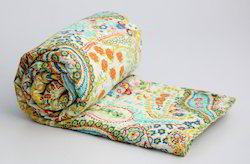 indian paisley kantha quilts bedcover