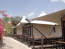Club Mahindra- Tensile Structures