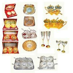 Silver And Gold Plated Gift Sets
