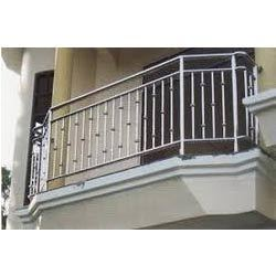 Stainless steel grills in chennai ss grills dealers for Stainless steel balcony grill design