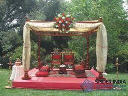 Sankheda Wedding Mandap & Wedding Set