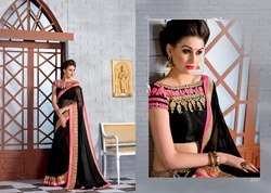 Exclusive Ladies Embroidered Sarees
