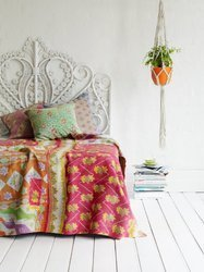 Vintage Bedding Throw Quilts