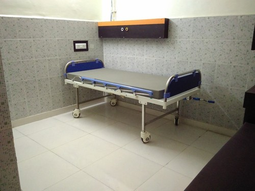 Hospital Semi Fowler Bed SS Bows