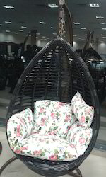 Wicker Garden Swing