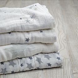 Organic Cotton Certified Baby Swaddles