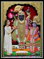 Shrinath Ji Painting