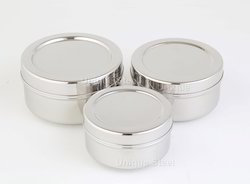 Stainless Steel Condiment Containers