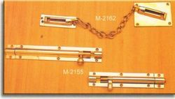 Straight Bolt & Door Chain