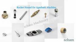 Rocket Nozzle for Agarbatti Machine