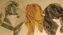 Cotton Linen Jacquard Scarves