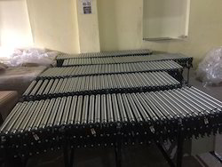 Powered Expandable Roller Conveyor