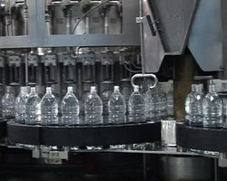 Plastic Water Bottle Filling Machine