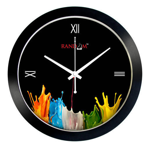 Colorful Wooden Clock