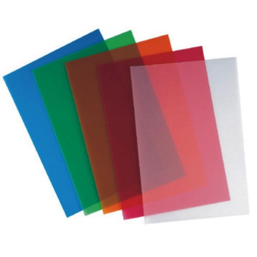 Plastic Book Cover Material : Binding materials cross line sheet mm