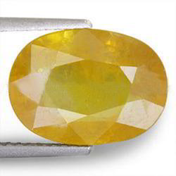 5.98 Carats Yellow Sapphire