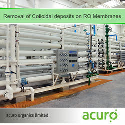 Removal of Colloidal deposits on RO Membranes