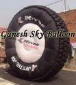 Inflatable JK Tyre Balloon