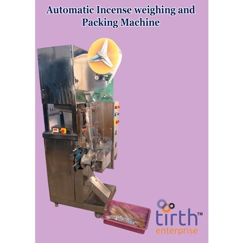 Automatic Incense Weighing and Packing Machine