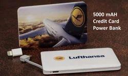 Credit Card 5000 mAh Power Bank