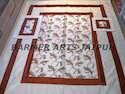 Silk Embroidery Bed Spread