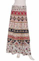 Bagru Print Magic Wrap Skirt