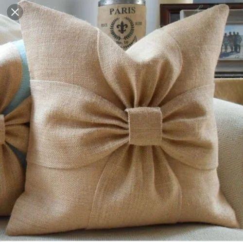 Jute Cushion Covers Designer Jute Cushion Cover