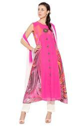 Trendy Indian Styling Casual Party Wear Long Ladies Suit