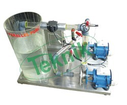 Series And Parallel Pump Demonstration Unit
