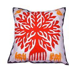 Jaipuri Bandhej Cut Work Cushion Covers