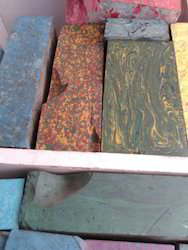 Rough Gemstones In Tile Form For Art And Crafts