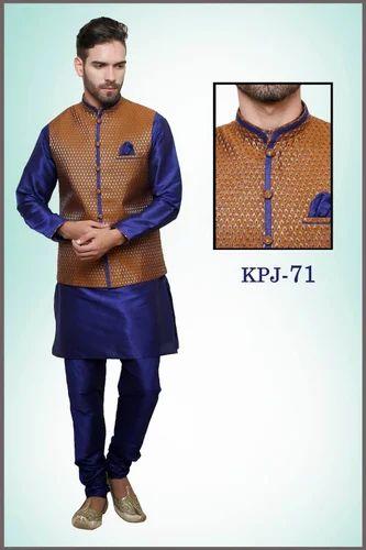 Royal Kurta Pyjama With Jacket