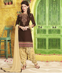 Embroidery Patiala Suit
