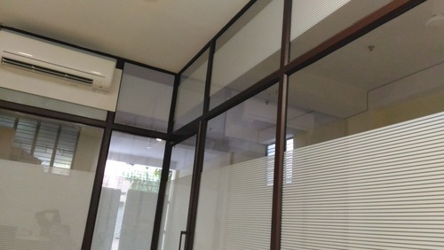 Aluminum Partition Fabrication Work