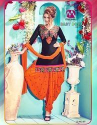 Unstitched Patiala Salwar Suit